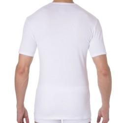 Lot de 2 T-Shirts Col V Dry & Cool Blancs DIM