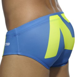 AD Logo Swim Brief - Royal Addicted