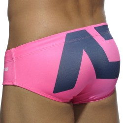 AD Logo Swim Brief - Fuchsia Addicted