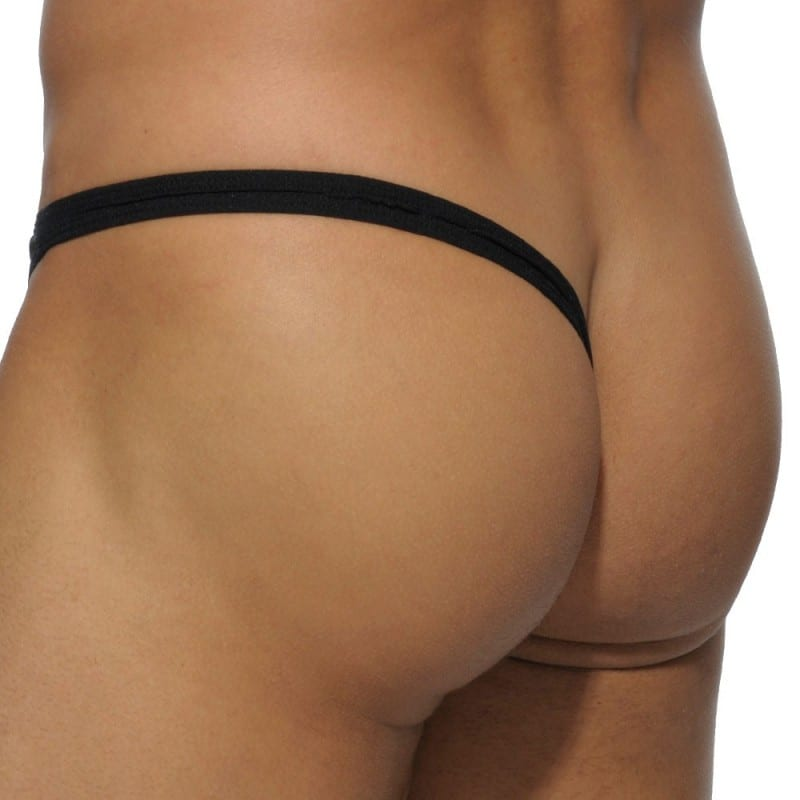 Addicted Basic Colors Lateral Thong - Black
