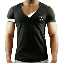 T-Shirt Hidden Noir TOF
