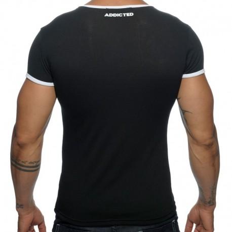 Addicted T-Shirt Basic Colors Noir