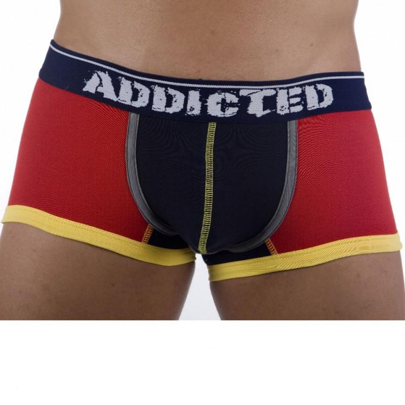 addicted push up boxer red navy. Black Bedroom Furniture Sets. Home Design Ideas
