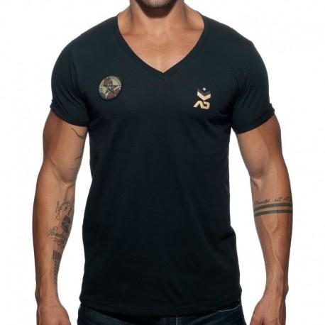 Addicted T-Shirt Military Noir
