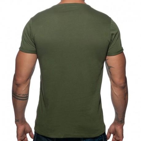 Addicted T-Shirt Military Kaki