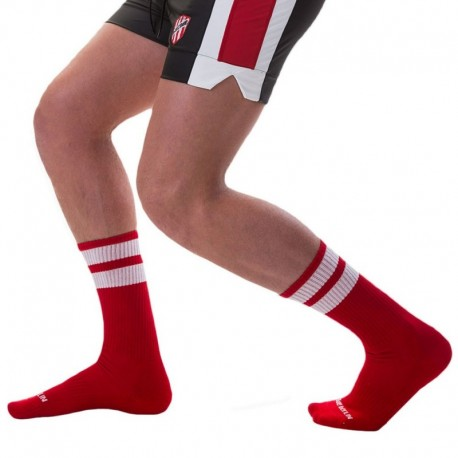 Barcode Chaussettes Gym Rouges
