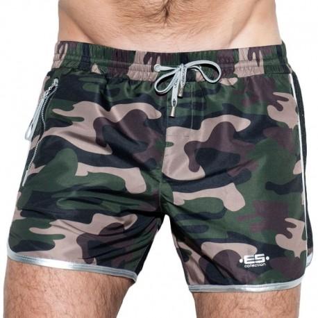 ES Collection Short de Bain Marvin Camouflage