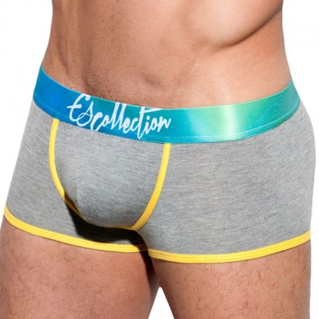 ES Collection Boxer Digital Aguas Waistband Gris
