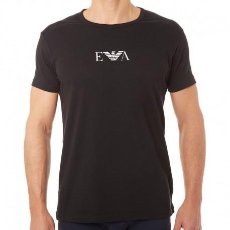 Emporio Armani 2-Pack Cotton Stretch T-Shirts - Black