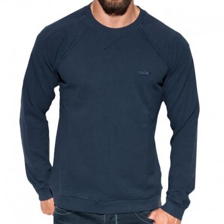 ES Collection Sweat-Shirt Cotton Knit Marine