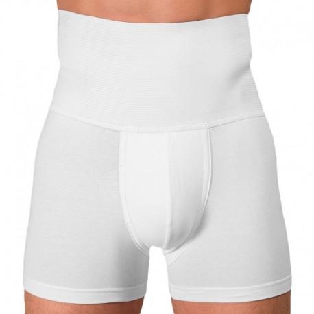 Rounderbum Slim Fit Boxer - White