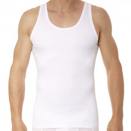 Spanx Débardeur Cotton Compression Blanc