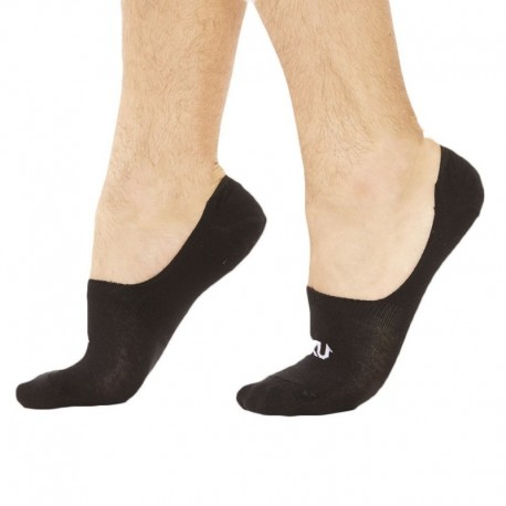 SKU 3-Pack No Show Socks - Black