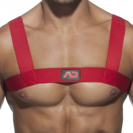 Basic Elastic Harness - Red