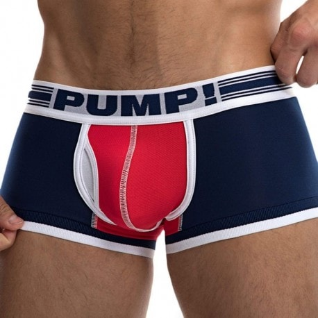 Pump! Boxer Touchdown Academy Marine - Rouge