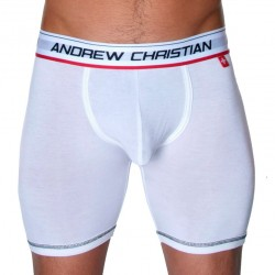Boxer Sports Flexsoft Essentials Blanc Andrew Christian