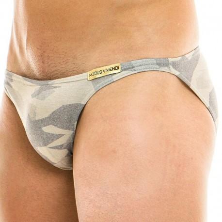 Modus Vivendi Slip Mini Désert Camouflage Sable