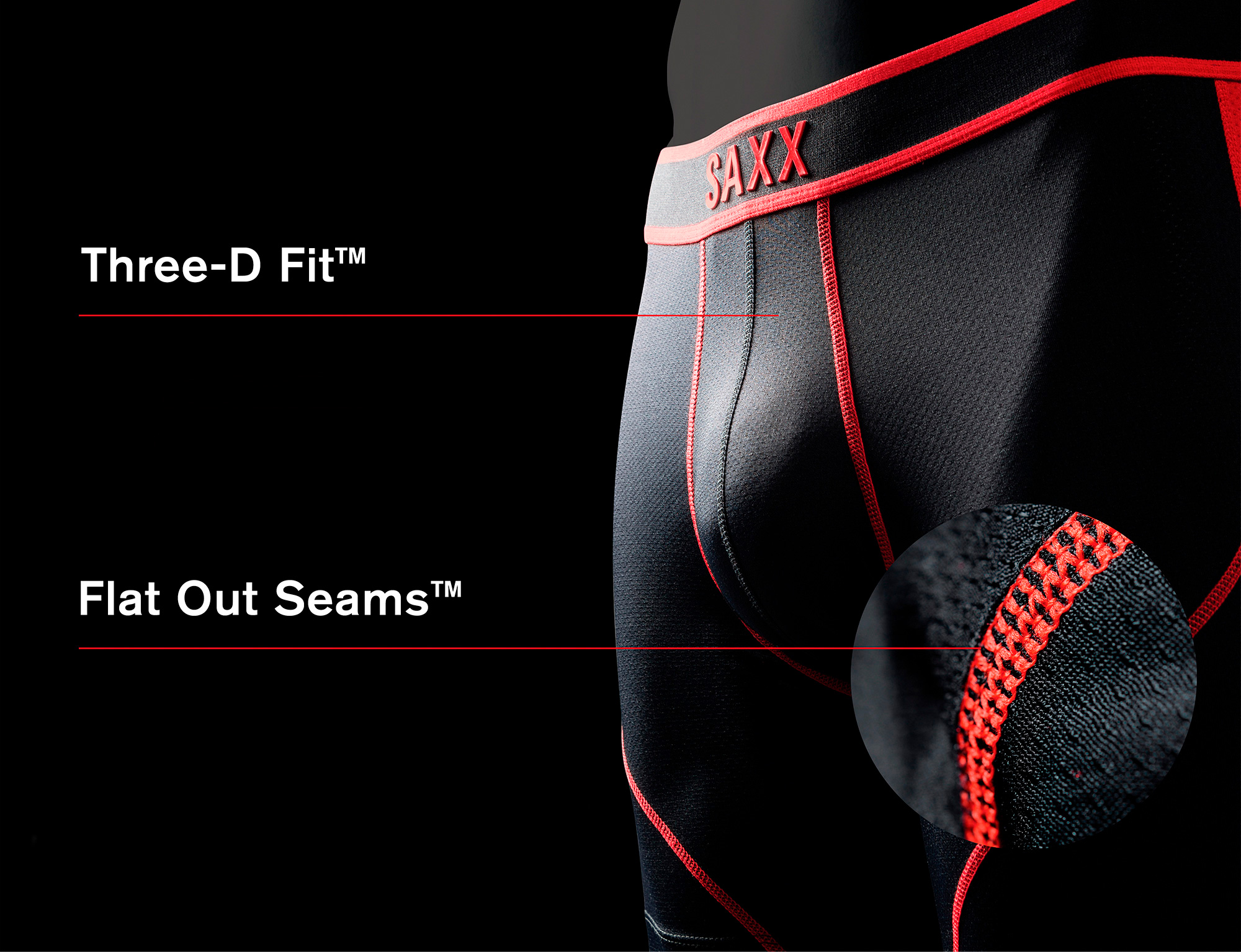 3D Fit + Flat out seams