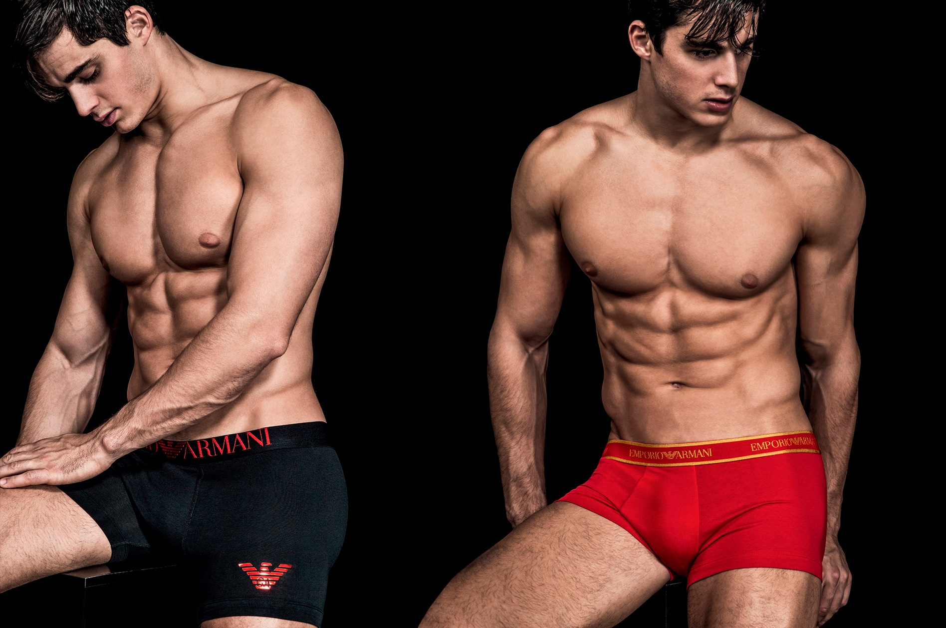 Emporio Armani Christmas underwears