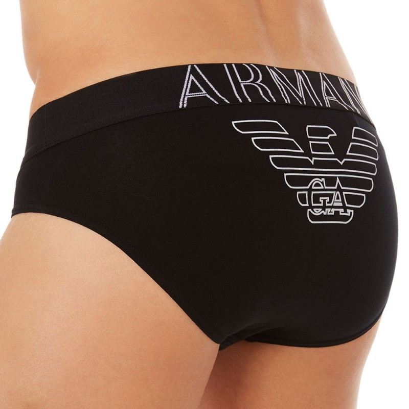 slip-stretch-cotton-eagle-noir-emporio-armani