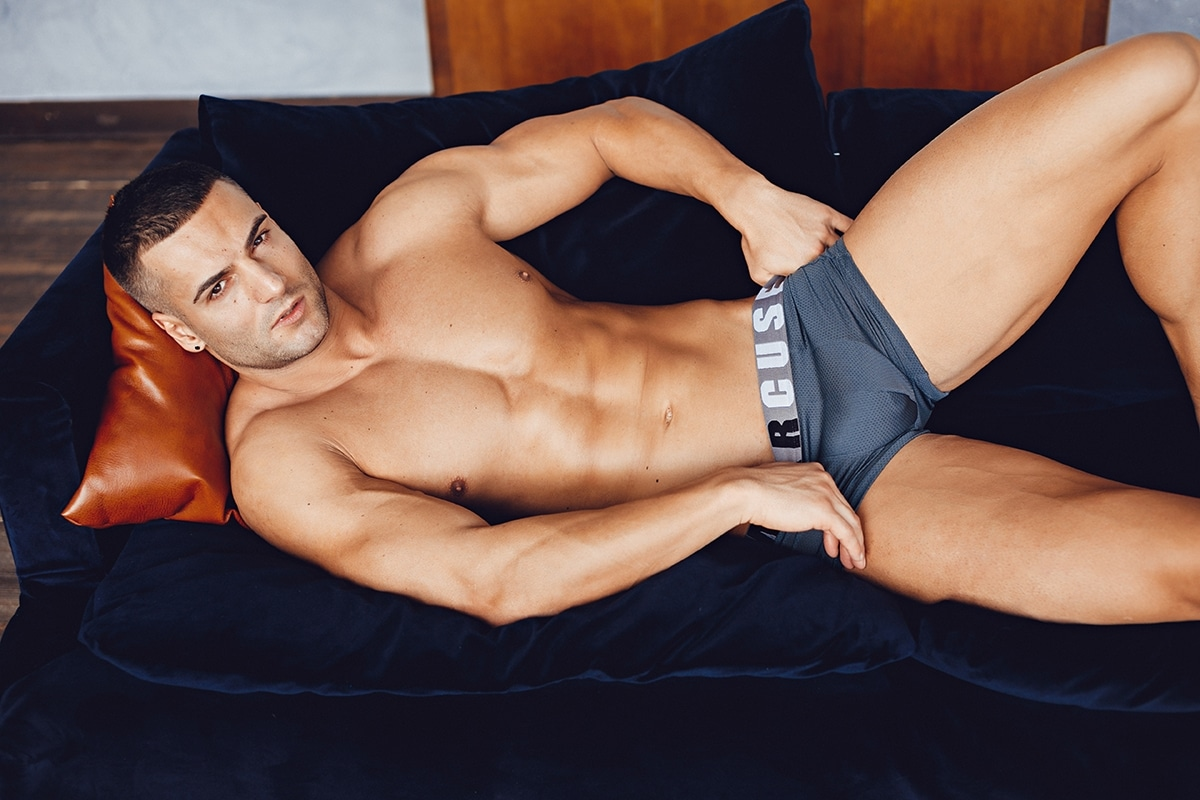 Active boxer charcoal 1