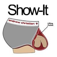 Show-It Boxer CoolFlex Modal Show-It Bleu Electrique